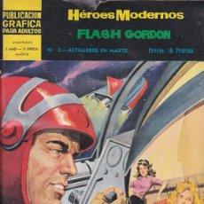 Tebeos: COMIC COLECCION HEROES MODERNOS FLASH GORDON NOVELA GRAFICA Nº 2. Lote 53976645