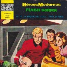 Tebeos: COMIC COLECCION HEROES MODERNOS FLASH GORDON NOVELA GRAFICA Nº 15. Lote 53976655