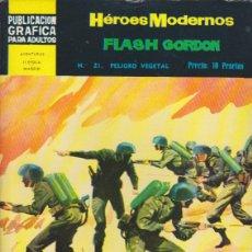 Tebeos: COMIC COLECCION HEROES MODERNOS FLASH GORDON NOVELA GRAFICA Nº 21. Lote 53976661