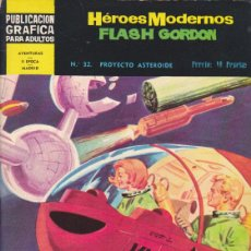 Tebeos: COMIC COLECCION HEROES MODERNOS FLASH GORDON NOVELA GRAFICA Nº 32. Lote 53976666
