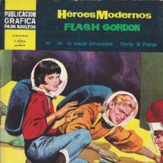 Tebeos: COMIC COLECCION HEROES MODERNOS FLASH GORDON NOVELA GRAFICA Nº 39. Lote 53976680