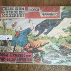 Giornalini: JORGE Y FERNANDO - HEROES MODERNOS - COL, DE 16 NºS COMPLETA - DOLAR - GA. Lote 54329095