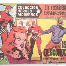 Tebeos: HEROES MODERNOS SERIE A EL HOMBRE ENMASCARADO SERIE A Nº 26 EDITA DOLAR. Lote 54668400