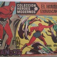 Tebeos: HEROES MODERNOS SERIE A EL HOMBRE ENMASCARADO SERIE A Nº 20 EDITA DOLAR. Lote 54668493
