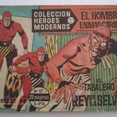 Tebeos: HEROES MODERNOS SERIE A EL HOMBRE ENMASCARADO SERIE A Nº 17 EDITA DOLAR. Lote 54668516