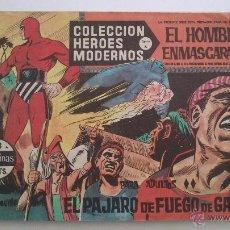 Tebeos: HEROES MODERNOS SERIE A EL HOMBRE ENMASCARADO SERIE A Nº 18 EDITA DOLAR. Lote 54668538