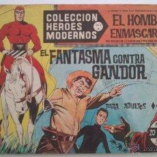 Tebeos: HEROES MODERNOS SERIE A EL HOMBRE ENMASCARADO SERIE A Nº 19 EDITA DOLAR. Lote 54668586