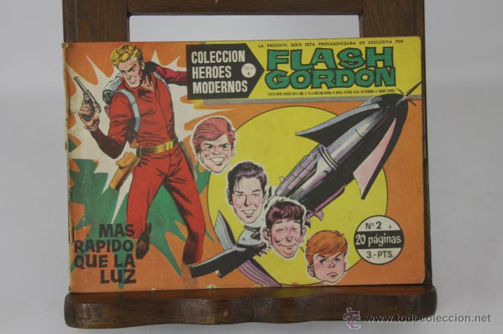 5702- COLECCION HEROES MODERNOS. EDIT. DOLAR. 9 EJEMPLARES. 1958. (Tebeos y Comics - Dólar)