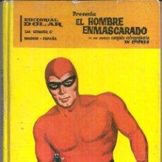Tebeos: EL HOMBRE ENMASCARADO (WILSON MC COY). LIBRO GRÁFICO ORIGINAL 1.964. 98 PÁGINAS EN COLOR.. Lote 55994964
