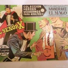 Tebeos: COLECCION HEROES MODERNOS - MANDRAKE EL MAGO NUM 56 - EDITORIAL DOLAR - 1958 - MBE. Lote 56163050