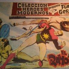 Tebeos: LA100 EDITORIAL DÓLAR ORIGINAL 1960 HEROES MODERNOS FLASH GORDON Y EL HOMBRE ENMASCARADO Nº 1. Lote 56240538