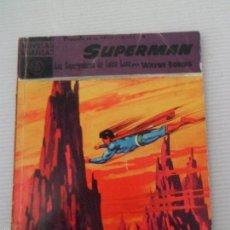 Tebeos: SUPERMAN - NOVELA GRÁFICA - SERIE VIOLETA - Nº 15 - EDITORIAL DÓLAR - 1959. Lote 56810624