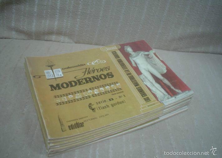 COLECCIÓN HÉROES MODERNOS SERIE B LOTE 1-9 EDITORIAL DOLAR (Tebeos y Comics - Dólar)