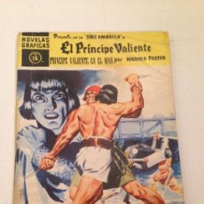 Tebeos: NOVELAS GRAFICAS SERIE AMARILLA Nº 16. EL PRINCIPE VALIENTE. EN EL MAR. DOLAR 1960.. Lote 58408232
