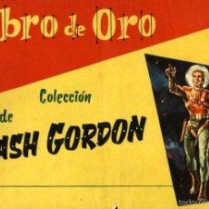 Tebeos: LIBRO DE ORO DE FLASH GORDON. TOMOS I Y II (DOLAR, 1958), DE DAN BARRY Y MAC RABOY. RARÍSIMOS. Lote 58631188