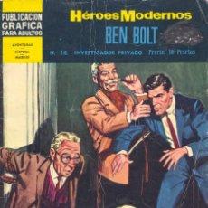 Tebeos: BEN BOLT Nº16. HÉROES MODERNOS. EDITORIAL DÓLAR, 1960. DIBUJOS DE JOHN CULLEN MURPHY. Lote 58705429