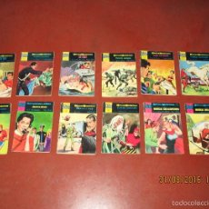 Tebeos: ANTIGUO LOTE DE 12 TBOS HEROES MODERNOS DE EDITORIAL DOLAR - AÑO 1960S.. Lote 59546791