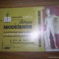 Tebeos: HEROES MODERNOS SERIE A Nº2 ED DOLAR. Lote 60793287