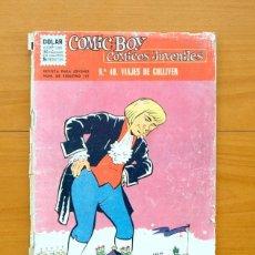 Tebeos: COMIC BOY Nº 40 - LOS VIAJES DE GULLIVER - EDITORIAL DÓLAR 1964. Lote 62067176