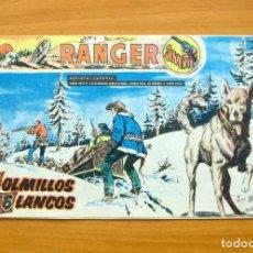 Tebeos: RANGER JUVENIL Nº 7 - COLMILLOS BLANCOS - EDITORIAL DÓLAR 1958. Lote 62067460