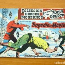 Tebeos: HÉROES MODERNOS - FLASH GORDON Nº 37 - TRAGEDIA EN MARTE - EDITORIAL DÓLAR 1958. Lote 62067664