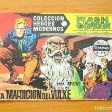 Tebeos: HÉROES MODERNOS SERIE B- FLASH GORDON Nº 38 - LA MALDICIÓN DE VULKE - EDITORIAL DÓLAR 1963. Lote 62069060