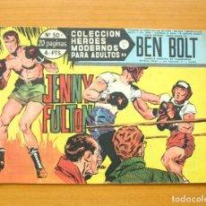 Tebeos: HÉROES MODERNOS SERIE C - Nº 50 - BEN BOLT - EDITORIAL DÓLAR 1963. Lote 62069420
