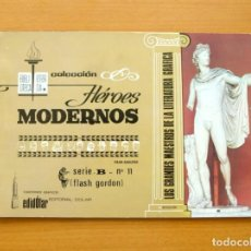 Tebeos: HÉROES MODERNOS SERIE B - FLASH GORDON ALBUM Nº 11 - EDITORIAL DÓLAR 1963. Lote 62070100