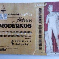 Tebeos: HÉROES MODERNOS SERIE B - FLASH GORDON ALBUM Nº 1 - EDITORIAL DÓLAR 1958. Lote 63552836