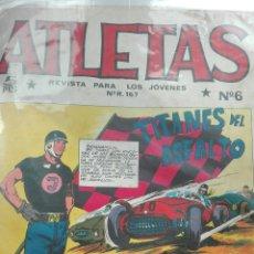 Tebeos: ATLETAS NÚMERO 6. Lote 63652783