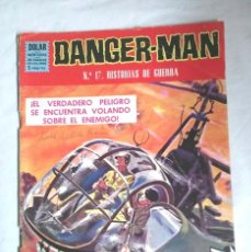 Tebeos: DANGER MAN Nº 17 HISTORIAS DE GUERRA. EDITORIAL DOLAR. Lote 64820035