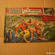 BDs: COLECCIÓN HEROES MODERNOS, EL HOMBRE ENMASCARADO Nº 24, EDITORIAL DÓLAR. Lote 68355049