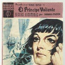 Tebeos: PRINCIPE VALIENTE, 1960, COLECCIÓN COMPLETA, 37 NÚMEROS, BUEN ESTADO. Lote 71060945