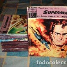 Tebeos: SUPERMAN, DOLAR 1959, COLECCIÓN COMPLETA DE 18 NÚMEROS, BUEN ESTADO.. Lote 71080137