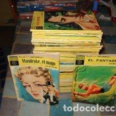 Tebeos: NOVELAS GRAFICAS; SERIE AMARILLA COMPLETA, 1959, 50 NÚMEROS, MUY BUEN ESTADO. MANDRAKE, PRINCIPE VAL. Lote 71080577