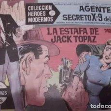 Tebeos: COLECCION HEROES MODERNOS SERIE C AGENTE SECRETO X-9 DEL F.B.I. Nº 14. Lote 71751943
