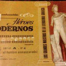 Tebeos: HÉROES MODERNOS. EL HOMBRE ENMASCARADO. SERIE A. N°4. Lote 75504678