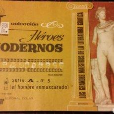 Tebeos: HÉROES MODERNOS. EL HOMBRE ENMASCARADO. SERIE A. N°5. Lote 75504815