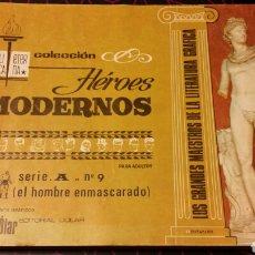 Tebeos: HÉROES MODERNOS. EL HOMBRE ENMASCARADO. SERIE A. N°9. Lote 75505059