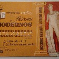 Tebeos: HEROES MODERNOS BIBLIOTECA ETERNA SERIE A. EL HOMBRE ENMASCARADO Nº 5. DOLAR 1970. Lote 78425389