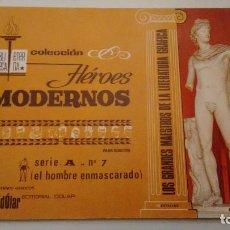 Tebeos: HEROES MODERNOS BIBLIOTECA ETERNA SERIE A. EL HOMBRE ENMASCARADO Nº 7. DOLAR 1970. Lote 78425437