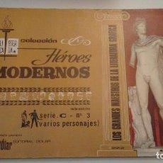 Tebeos: HEROES MODERNOS BIBLIOTECA ETERNA SERIE C. VARIOS AUTORES Nº 3. DOLAR 1970. Lote 78427173