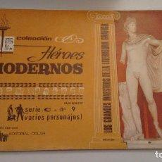 Tebeos: HEROES MODERNOS BIBLIOTECA ETERNA SERIE C. VARIOS AUTORES Nº 9. DOLAR 1970. Lote 78427533
