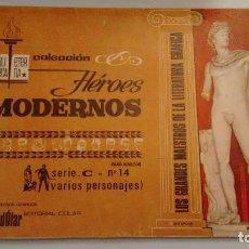 Tebeos: HEROES MODERNOS BIBLIOTECA ETERNA SERIE C. VARIOS AUTORES Nº 14. DOLAR 1970. Lote 78427793