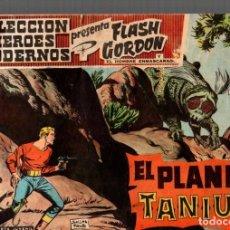 Livros de Banda Desenhada: COLECCION HEROES MODERNOS. FLASH GORDON Y EL HOMBRE ENMASCARADO. Nº 43. EL PLANETA TANIUM. Lote 79774977