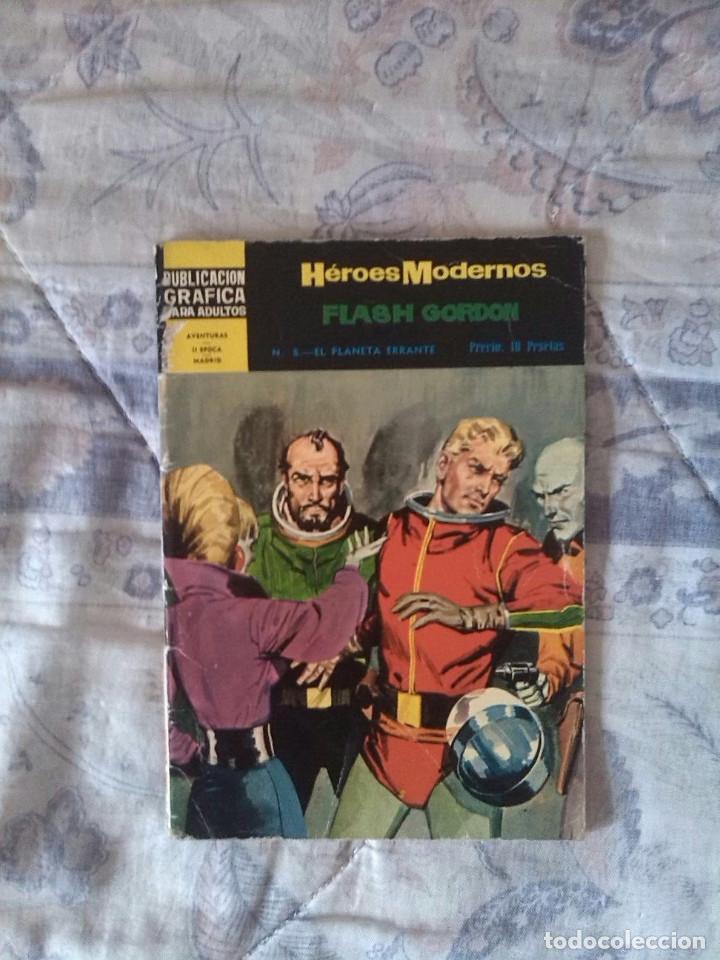 FLASH GORDON Nº8 - EL PLANETA ERRANTE - COLECCIÓN HÉROES MODERNOS (Tebeos y Comics - Dólar)