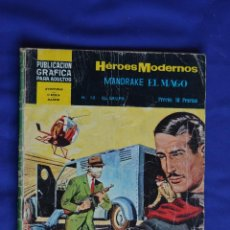 Giornalini: MANDRAKE EL MAGO Nº 10 * HEROES MODERNOS * NOVELAS GRAFICAS * DOLAR. Lote 85818740