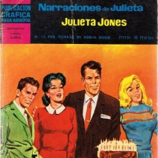 Tebeos: CÓMIC JULIETA JONES Nº 12 . Lote 87003608