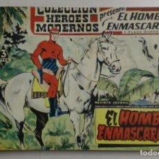 Tebeos: LIBRO COLECCIÓN HÉROES MODERNOS - CONTIENE 40 NÚMEROS- EL HOMBRE ENMASCARADO Y FLASH GORDON. Lote 88109464