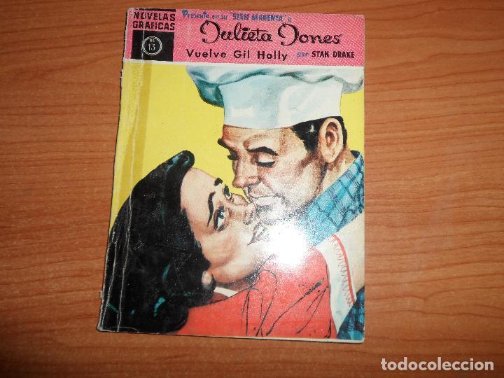 NOVELAS GRAFICAS JULIETA JONES Nº 13 SERIE MAGENTA EDITORIAL DOLAR (Tebeos y Comics - Dólar)